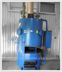The steam generator on firewood and coal Idmar SB