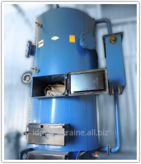 The steam generator industrial on solid fuel Idmar