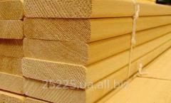 Plank bed for a sauna (alder)
