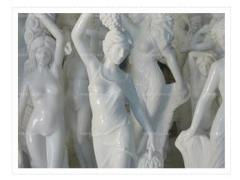 Statues and figurines under the order in