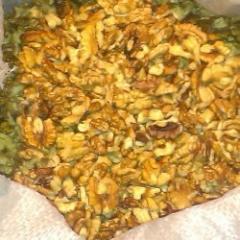 The walnut kernel mix – percentage of components