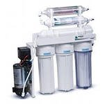 System of the return osmosis Leader RO-7 6 bio the filter for water the Leader with a mineralizer and a bioceramic strukturizator