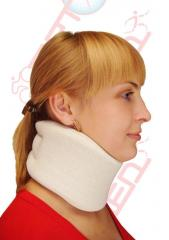 Bandage orthopedic for cervical department of a