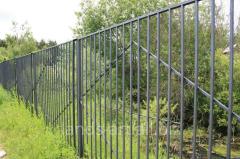 Metal fences: production, installation