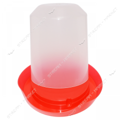 Drinking bowl plastic Bunker of 3 l 25х20