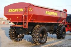 Bunker handlers Bronton for taking grain from the