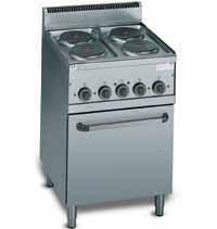 Electric cooker 4 burner
