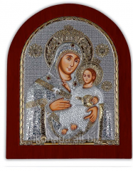 Our Lady of Bethlehem Silver 925 Silver Axion