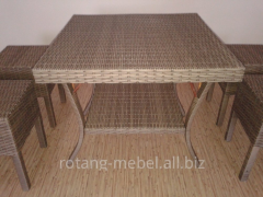 Set of furniture from a rattan Victoria 3 for
