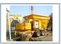 Mobile concrete plant B15-1200 Plants concrete
