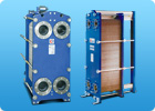 Heat exchangers are lamellar folding solder welded