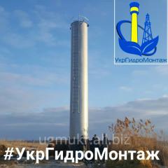 Производство и монтаж водонапорных башен ВБР