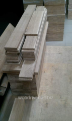 Materials for stairs: steps of oak
