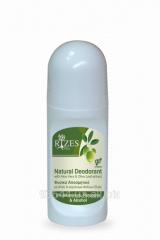 Натуральный дезодорант с алоэ, экстрактом листьев