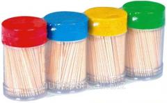 Toothpicks of 100 pieces.
