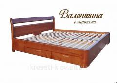 "Bed wooden ""Valentina"" from the"