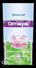 Prestarting a forage for pigs tm Kormil