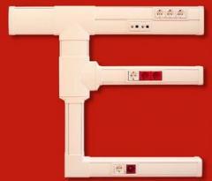 Box 2 meters long, white, RAL 9010