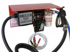 Мини АЗС 12В 50л/мин для перекачки бензина PIUSI