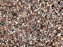Камень природный Мраморный щебень 5-10 mm красный