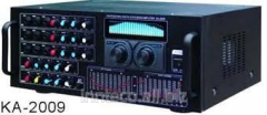 The professional digital amplifier mixer with