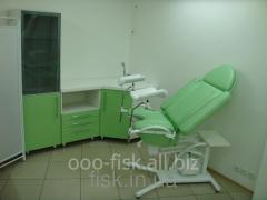 Chair viewing gynecologic KS-3RG (hydraulic