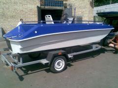 Моторная лодка ПОЛКАН (без оборудования)