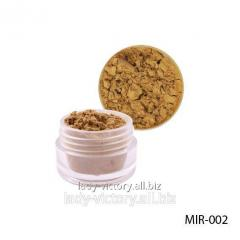 Gold pigment for gel and acrylic powder. MIR-002