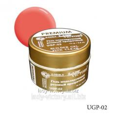 The pink self-leveled gel of the Premium series.