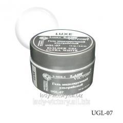The ultrawhite modeling Luxe gel. UGL-07