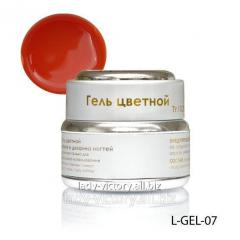 Red stained glass gel. L-GEL-07