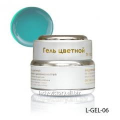 Azure stained glass gel. L-GEL-06