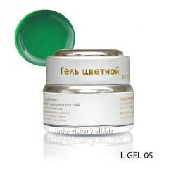 Green stained glass gel. L-GEL-05