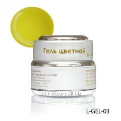 Yellow stained glass gel. L-GEL-03