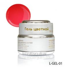 Neon-pink stained glass gel. L-GEL-01