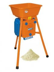 Electric flour-grinding minimill