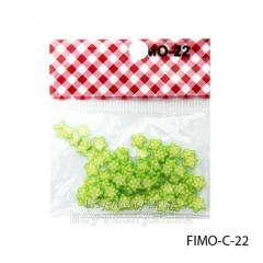 FIMO figures in the form of lime-green. FIMO-C-22
