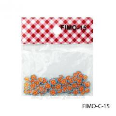 FIMO figures in the form of orange