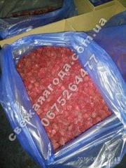 Frozen raspberries Замороженная малина