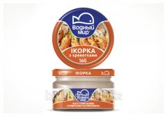 Ikorka with shrimp