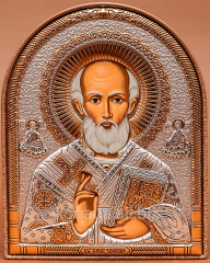 Nikolay Ugodnik's icon (Slavic style) 120 x