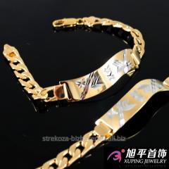 Купить браслет из золота мужской в украине