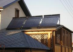 Solar systems for water heating. Systems for