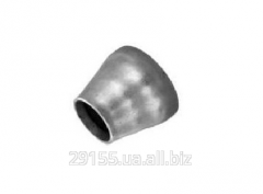 Transition is steel welded galvanized
