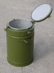 TN-36 thermos on 36 l. Thermoses are army.