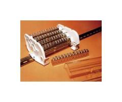 Distribution block on DIN a rail, the Quadro