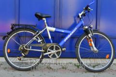 Велосипед Pegas б.у радиус колес 26