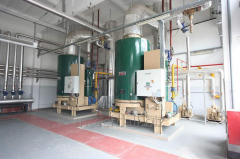 Steam boiler rooms
