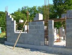Polysterene concrete blocks size 600х300х200