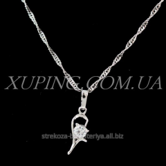 """Pendant """"Little curl with 1 strazom"""